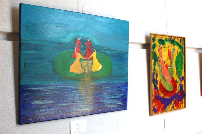 Exposición Elisa Levame - Sofitel